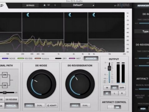 ERA-D Tips: De-noise in Protools Audiosuite